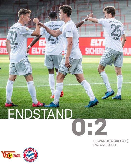 Il Bayern soffre, ma batte due colpi a Berlino