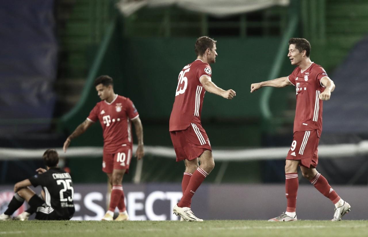 Lyon perde chances, Bayern se impõe e decide Champions League contra PSG