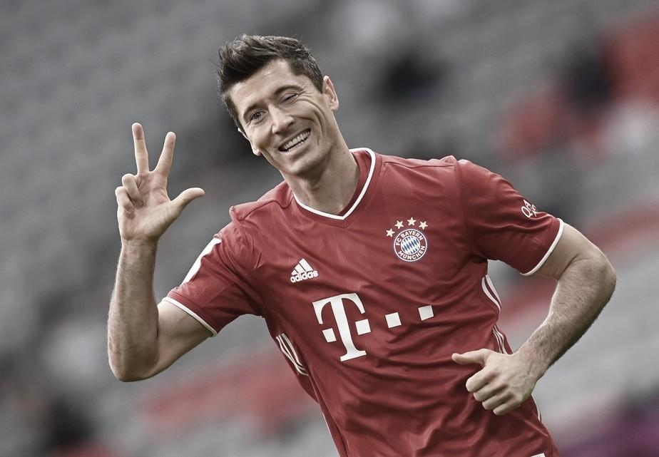 Bayern 5 a 0 Eintracht Frankfurt (FC Bayern/Divulgação)