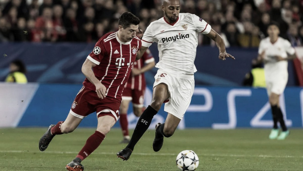 Bayern administra vantagem, empata sem gols com Sevilla e avança às semifinais da Champions
