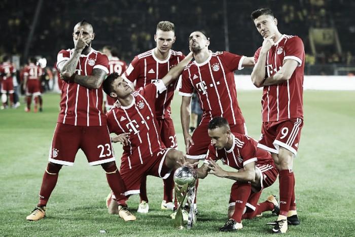 Nos pênaltis, Bayern supera Borussia Dortmund e conquista Supercopa da Alemanha