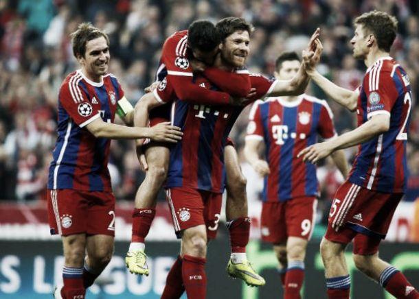 Bayern Munich (7) 6-1 FC Porto (4): Brilliant Bayern power past Porto to reach semi-finals