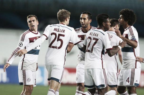 Com pênalti duvidoso, Bayern de Munique vence CSKA na Rússia