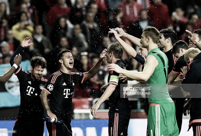 Benfica x Bayern : Mais forte imperou... mas em sentido