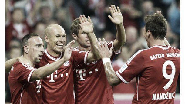 Resultado Bayern Múnich - CSKA Moscú en la Champions League 2013 (3-0)