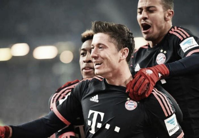 Bayern vence em Hamburgo