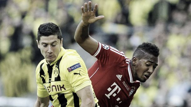 VIDEO: lite J.Boateng - Lewandowski in allenamento