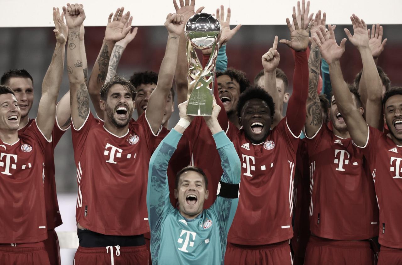 É campeão! Com gol decisivo de Kimmich, Bayern bate Dortmund e fatura título da Supercopa da Alemanha