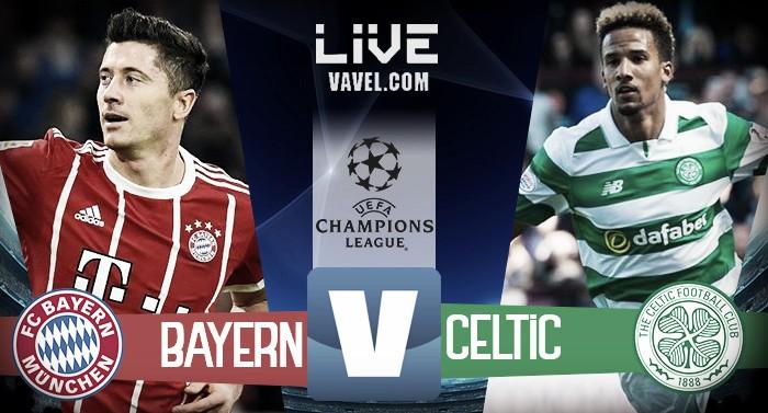 Risultato Bayern Monaco - Celtic in diretta, LIVE Champions League 2017/18 - Muller, Kimmich, Hummels! (3-0)