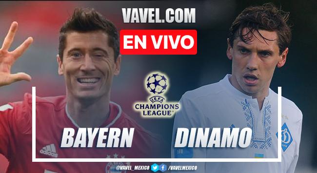 Goles y resumen del Bayern 5-0 Dinamo Kiev en UEFA Champions League 2021
