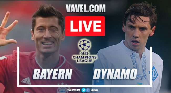 Goals and Highlights: Bayern 5-0 Dynamo Kiev  in Champions League 2021