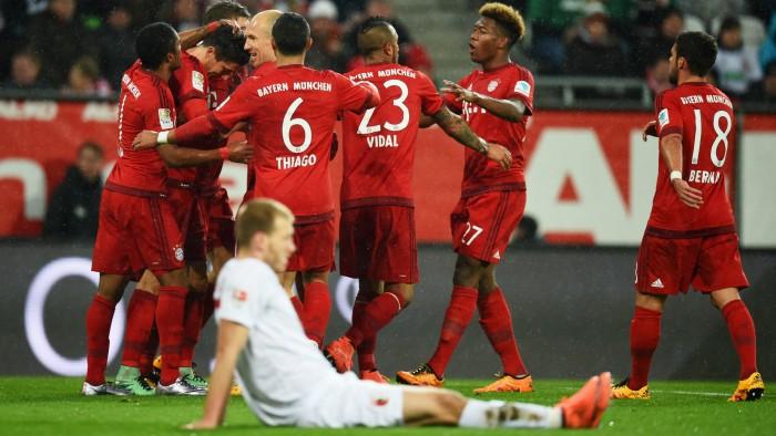 Champions: il Bayern cade a Rostov, l'Atletico è primo