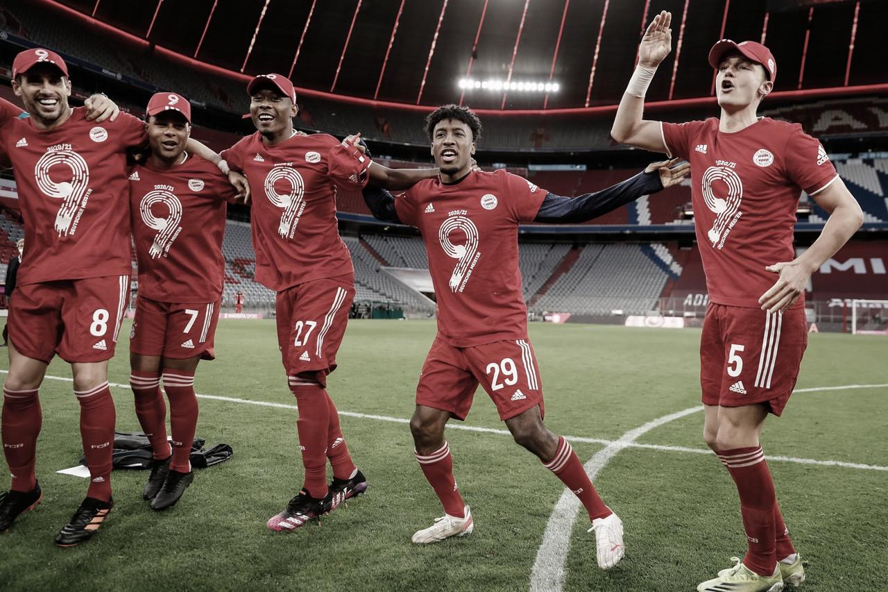 Nove vezes seguidas! Bayern de Munique goleia Gladbach e comemora título da Bundesliga