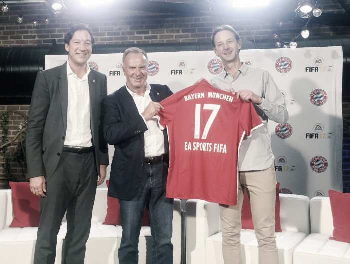 Em Nova York, Bayern de Munique anuncia parceria com EA Sports