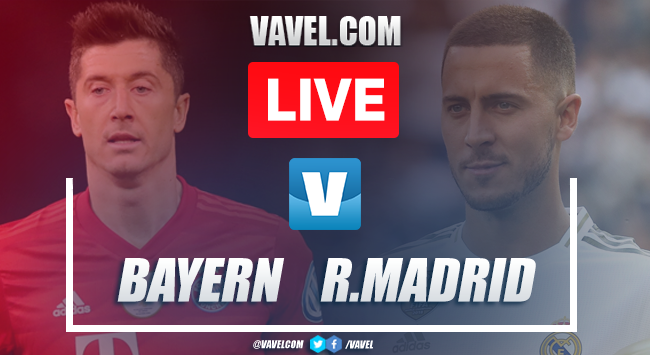 Bayern Munich vs Real Madrid: Live Stream and Score Updates (0-0)