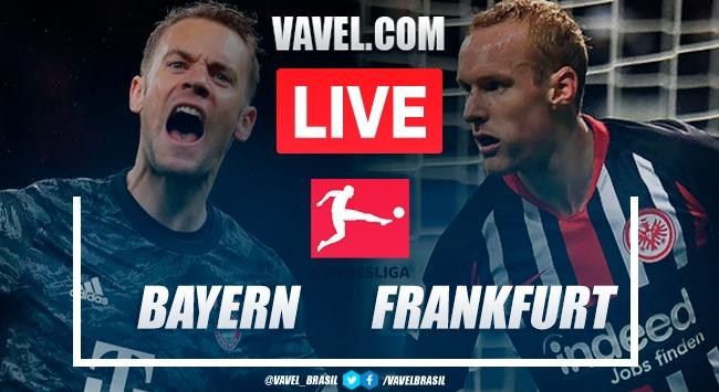 Gols e melhores momentos Bayern de Munique x Eintracht Frankfurt pela Bundesliga (5-2)