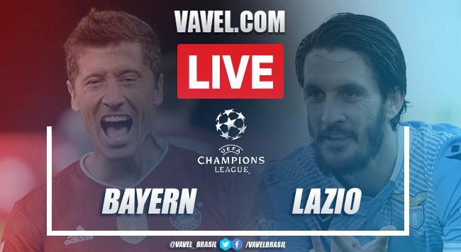 Gols e melhores momentos de Bayern x Lazio (2-1)