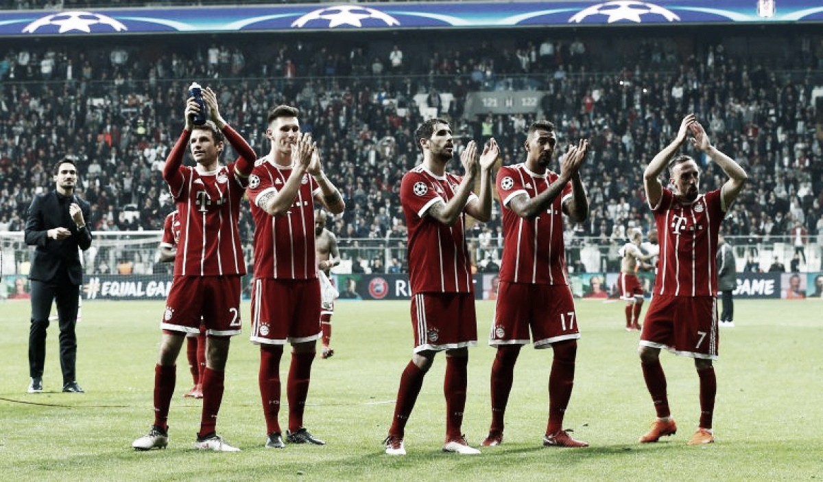 A stroke of luck give Bayern Munich the upper hand against Sevilla