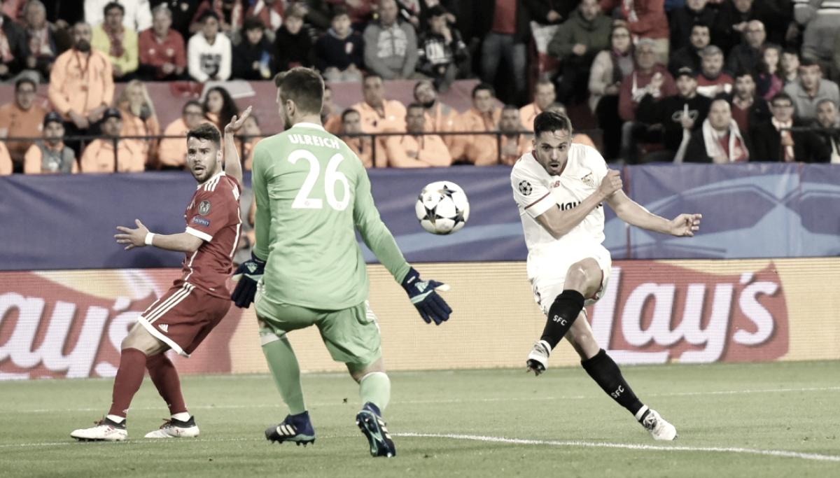 Sevilla FC - Bayern Münich: puntuaciones del Sevilla, Cuartos de la Champions League