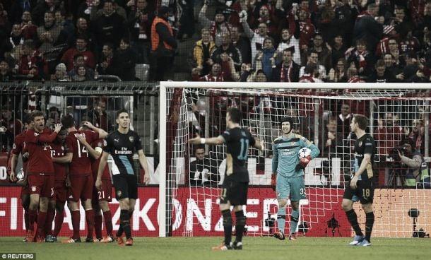 Bayern Munich 5-1 Arsenal: German giants blow away Gunners