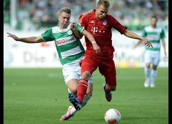 El Bayern de Múnich supera sin problemas al Greuther Fürth
