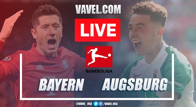 Goals and Highlights: Bayern Munich 2 - 0 Augsburg in 2020 Bundesliga
