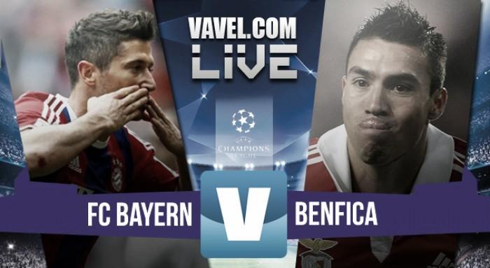 Terminata Bayern Monaco - Benfica in Champions League 2016 (1-0): decide Vidal