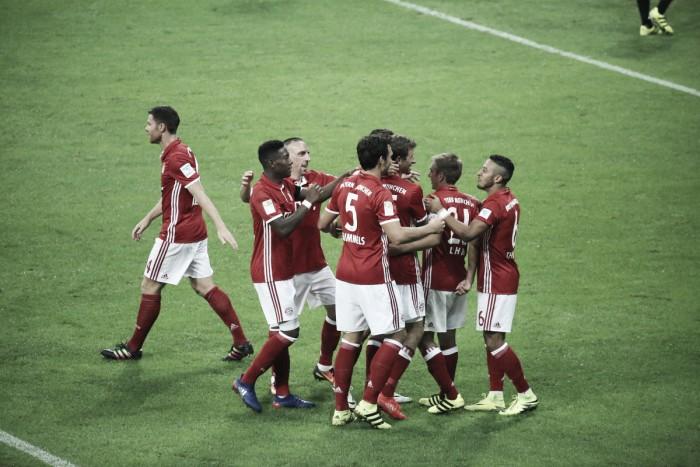 Bayern Munich 6-0 Werder Bremen: Lewandowski nets a hat-trick as defending champions stroll to victory