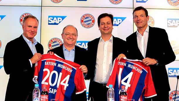 Bayern Munich sign up with SAP