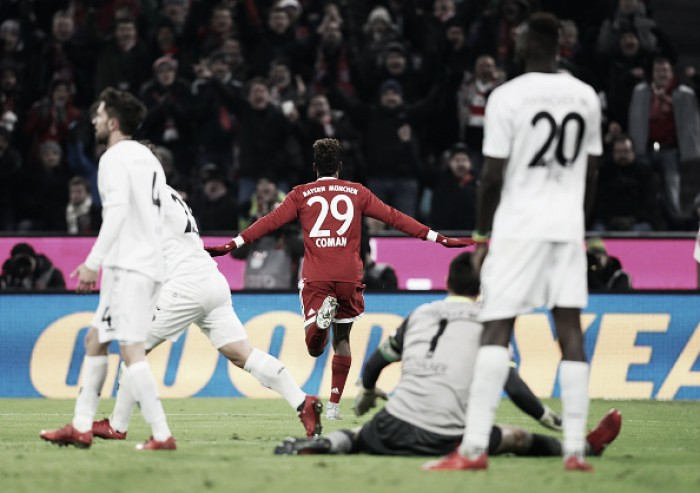 Em tarde inspirada de Coman, Bayern vence Hannover e se mantém líder da Bundesliga