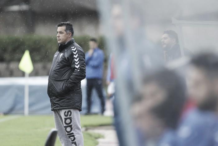"""Óscar Mena: """"Empatamos con más corazón que fútbol"""""""
