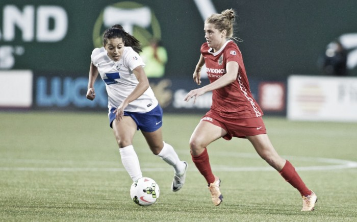 Score: Boston Breakers 2-2 Portland Thorns FC in 2017 NWSL Match