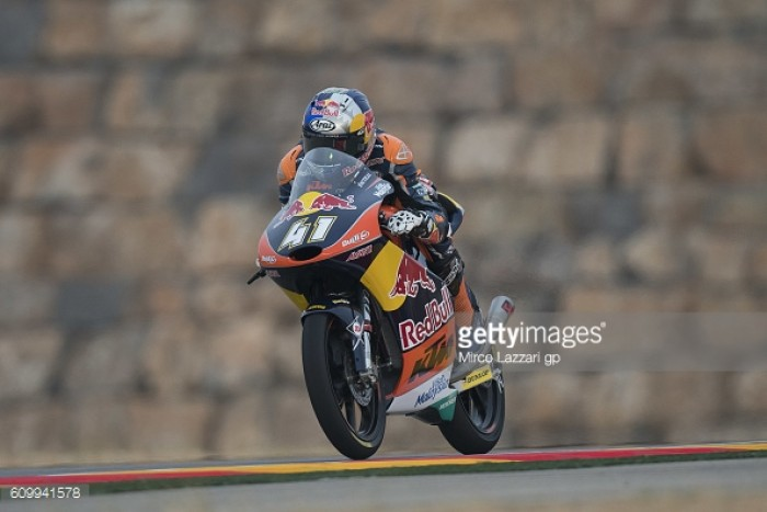 Binder fastest in Aragon, is this his championship sealed?