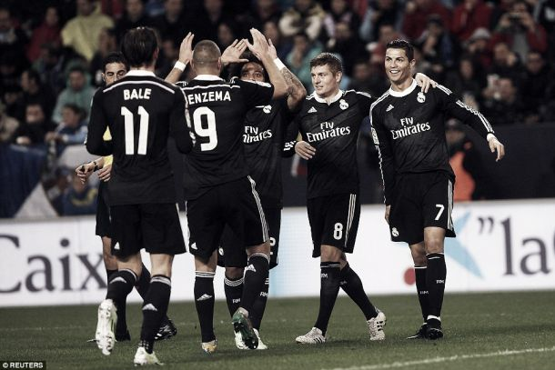 Malaga 1-2Real Madrid: Benzema & Bale keep Real top of the league