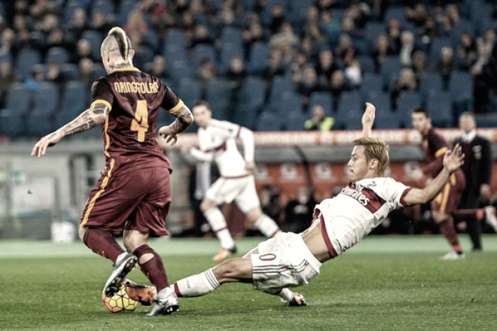 Si accende l'Olimpico, in scena Roma-Milan: giallorossi per il secondo posto solitario