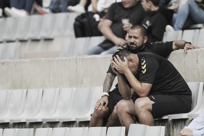 """Óscar Mena: """"El único responsable de la derrota soy yo"""""""