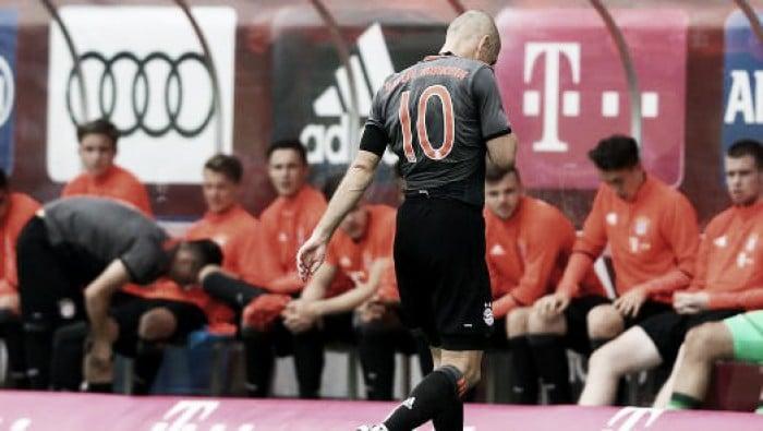 Bayern Monaco, altro stop per Robben: l'olandese out per sei settimane