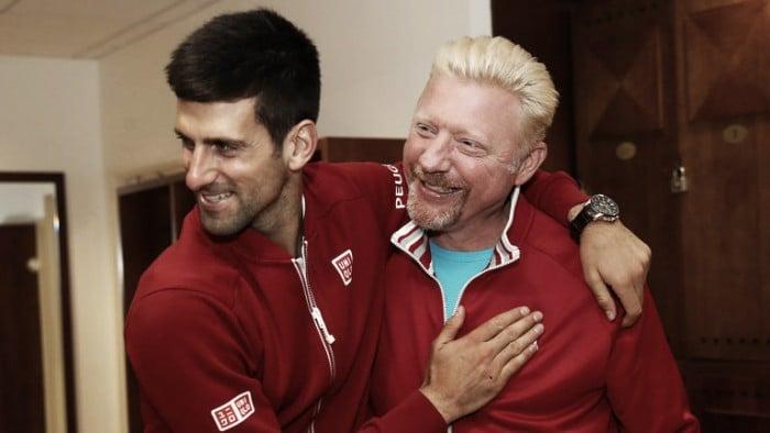 Novak Djokovic divorzia da Boris Becker