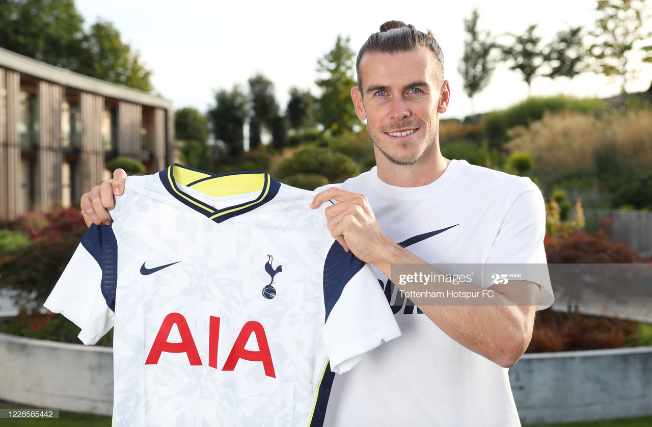 Tottenham announce the re-signing of Gareth Bale on a season-long loan