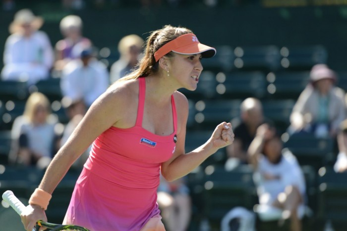 WTA Indian Wells: Belinda Bencic Comes Through A Tough Battle With Lauren Davis