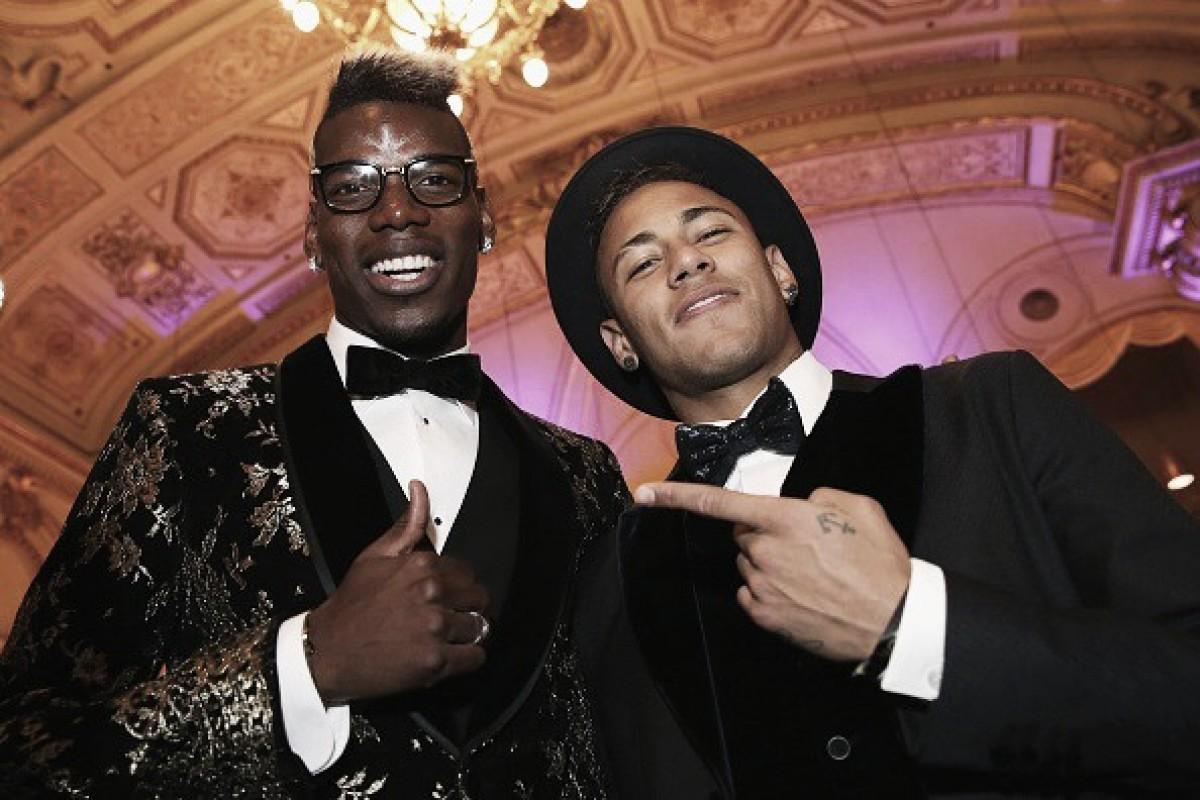 Pogba exalta Neymar e diz que 'seria um prazer' jogar ao lado do craque brasileiro