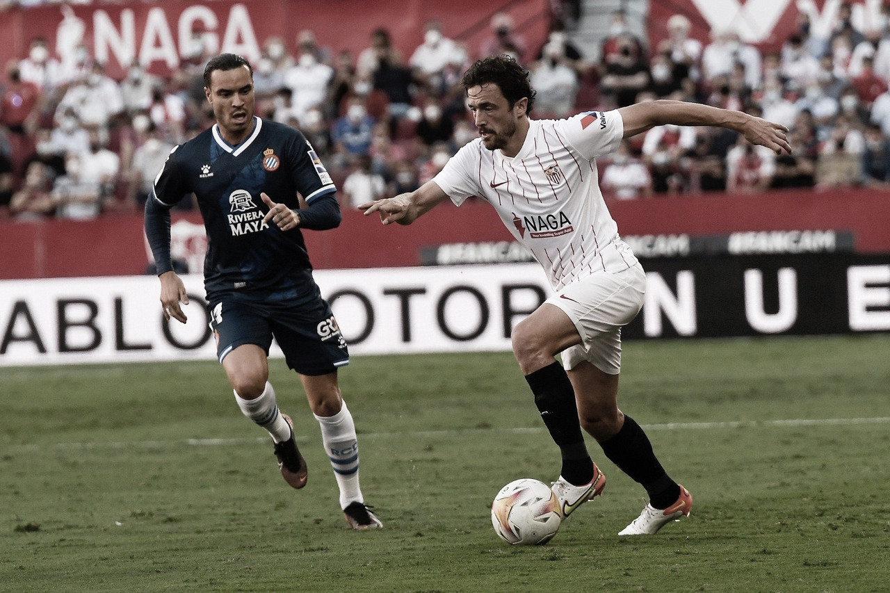 El Sevilla se pone segundo de liga
