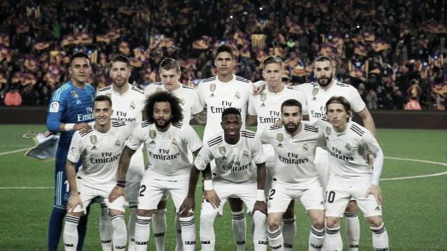 Barcelona- Real Madrid: puntuaciones del Real Madrid en ida semifinales de Copa del Rey 2019