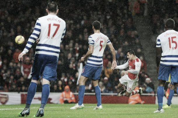 L'Arsenal vince 2-1 contro il QPR e chiude il Boxing Day