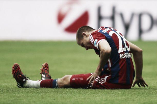 Bayern, Guardiola accoglie il rientrante Robben. Per Badstuber stagione finita