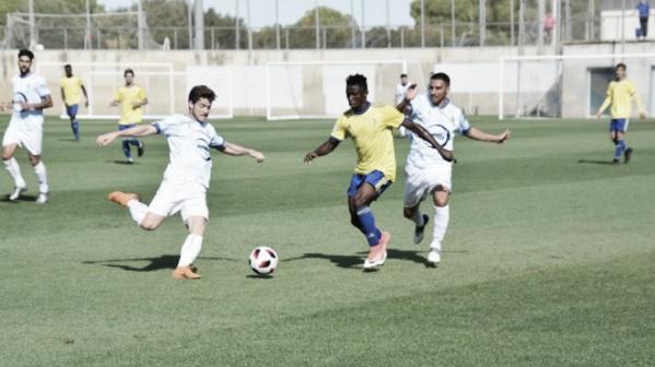 El Cádiz B empata a cero ante el UD Los Barrios