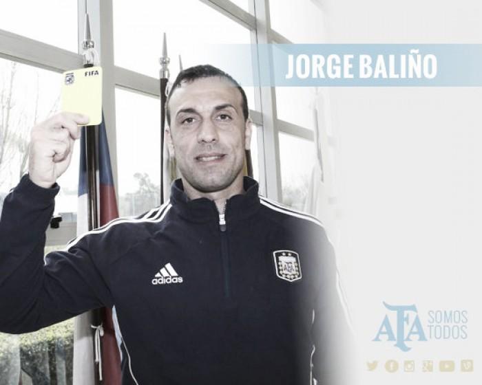 Baliño,un juez tarjetero con el que no le fue bien a Argentinos