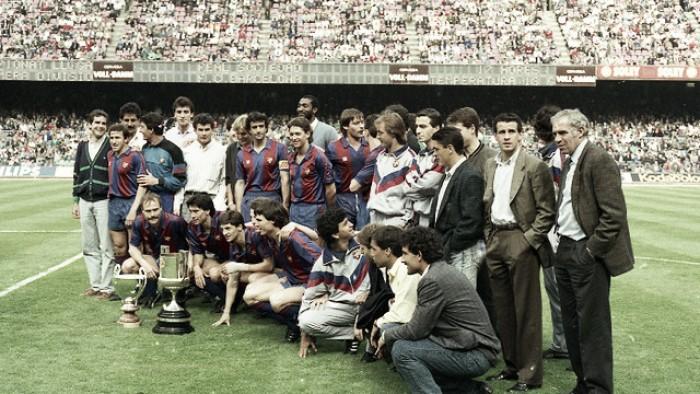 La Copa del Rey de 1988, la inmediata a Cruyff