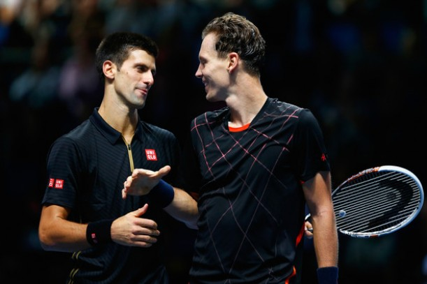 ATP World Tour Finals Round Robin Preview: Novak Djokovic - Tomas Berdych