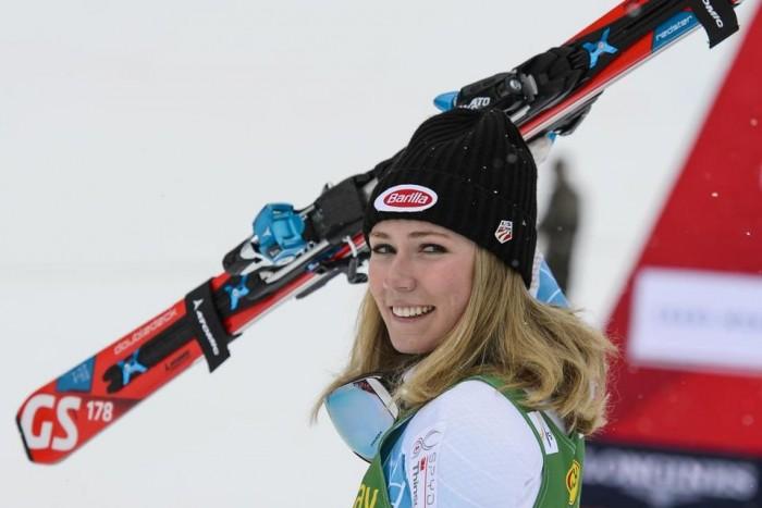 Sci Alpino, Killington - Slalom speciale, 1° manche: comanda la Shiffrin
